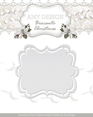 Brocante Christmas - Label - ADD10032