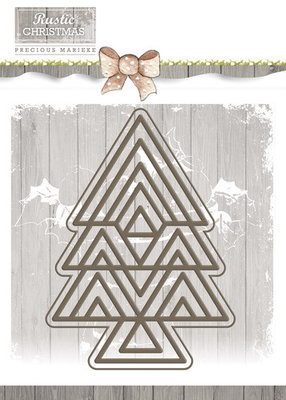 Rustic Christmas -Tree - PM10040