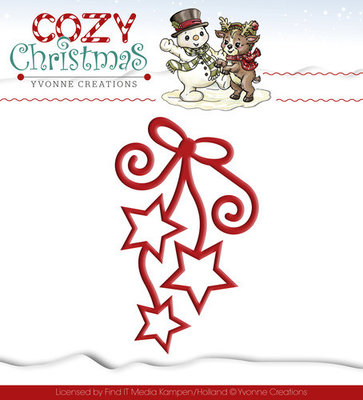 Cozy Christmas - Hanging stars