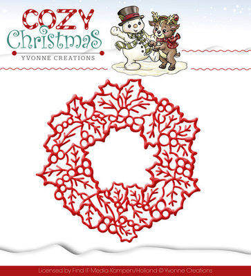 Cozy Christmas - Wreath / krans