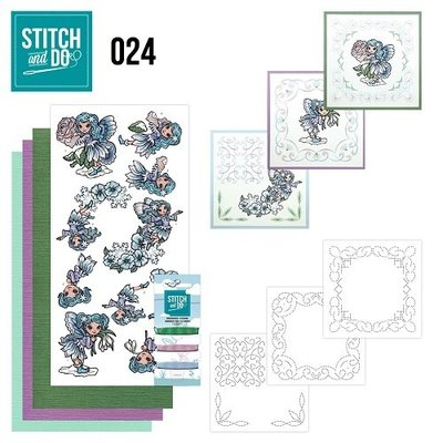Stitch & do - 24 Fairies