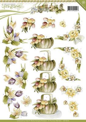 Springtime- knipvel spring flowers
