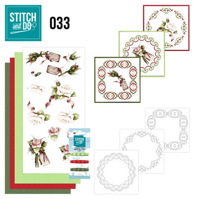 Stitch & do - 33 Rozen