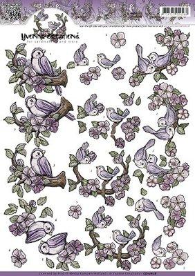 Yvonne Creations, vogeltjes cd10628