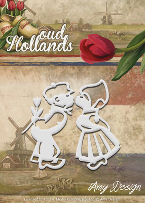 Oud Hollands - Die - Boer en Boerinnetje