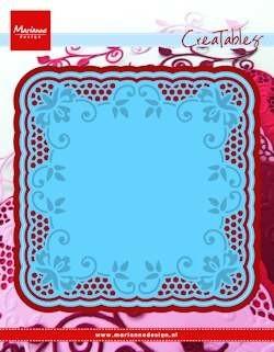 Marianne desgn, stencil lace doily