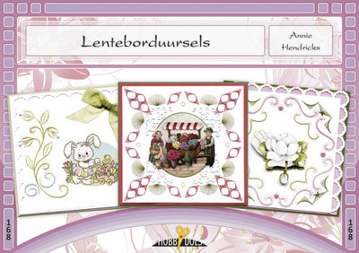 Hobbydols, Lenteborduursels - Annie Hendricks