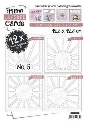 Layered Frame Cards 6 - 4K