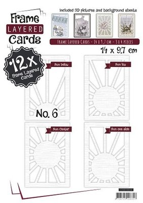 Layered Frame Cards 6 -  A6