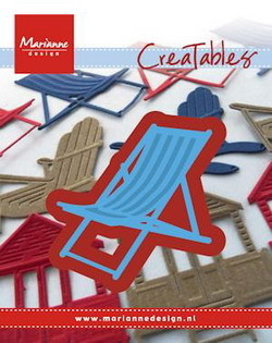 Marianne desgn - Craftables stencil deck chair