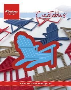 Marianne desgn - Craftables stencil bear chair