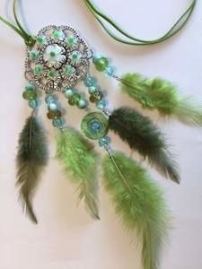 DIY set - Dream Catcher - green