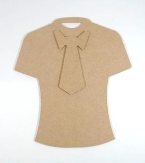 Joy - mdf T-shirt met stropdas