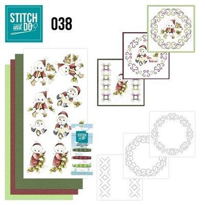 Stitch & do - 38 Kerstkinderen