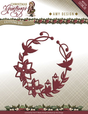 Christmas Greetings -  Christmas Greetings Ornament - ADD10068