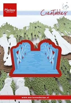 Marianne desgn - Creatables stencil Tiny's bridge