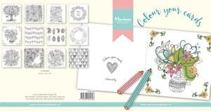 MD - Pretty Papers bloc Colour your cards - everyday