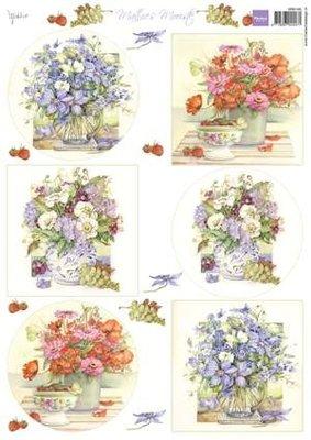 Marianne design, knipvel Mattie's Mooiste - boeketten MB0160