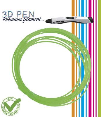 3D Pen filament - 5M - groen fluor