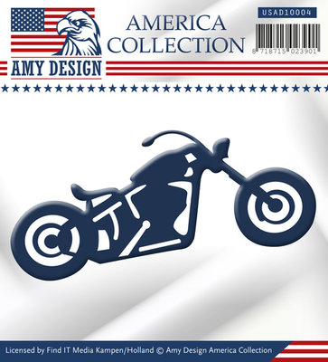 Amy design Maps - America Collection - Bike