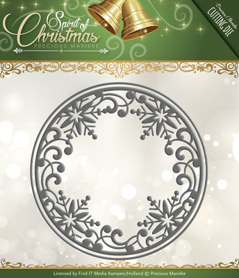Spirit of Christmans -  Die - Snowflake circle
