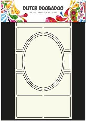 Dutch Doobadoo - Dutch Card Art  - Stencil Swing card 3 ovaal ovaal A4