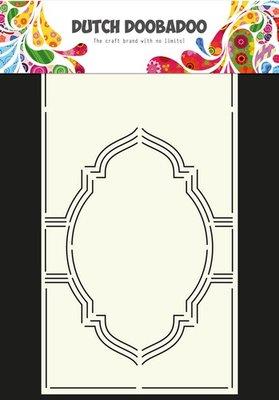 Dutch Doobadoo - Dutch Card Art  - Stencil Swing kaart 4 A4