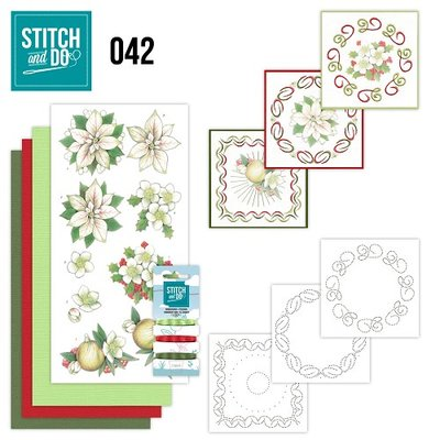 Stitch & do - 42 - White Christmas Flowers