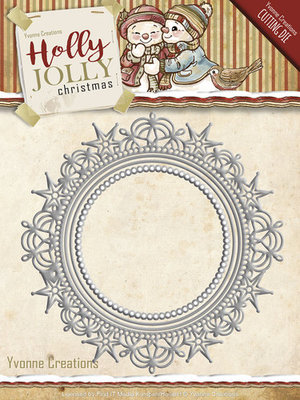 Holly Jolly - die: Nesting Frame