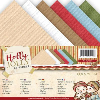 Linnenpakket - A5 - Holly Jolly