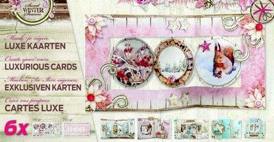 Studio Light - Kaartpakket Luxe gestansde kaarten - Sweet Winter Season 02