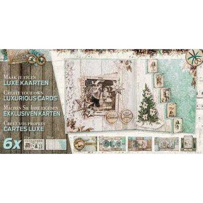 Studio Light - Kaartpakket Luxe gestansde kaarten - Winter memories
