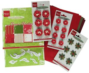 Marianne desgn - Marianne pakket floral red