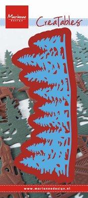 Marianne desgn - Creatables stencil - horizon forest