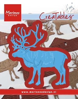 Marianne desgn - Creatables stencil - Tiny's reindeer