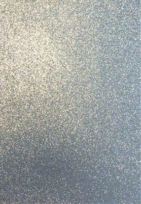 Foam GLITTER 22x30 cm zilver