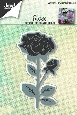 Joy Crafts - Joy! stencil Roos  6002/0648