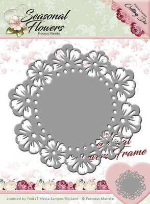 Seasonal Flower -  Die - Flower frame
