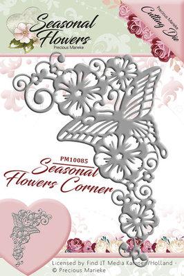 Seasonal Flower -  Die - Corner