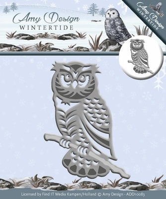 Die - Wintertide - Owl  ADD10083
