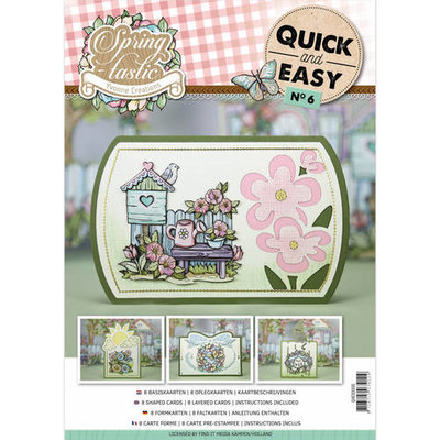 Quick and Easy 6 -  - Yvonne Creations - Spring-tastic
