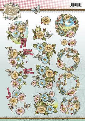 3D Knipvel - Yvonne Creations - Spring-tastic - Flowers