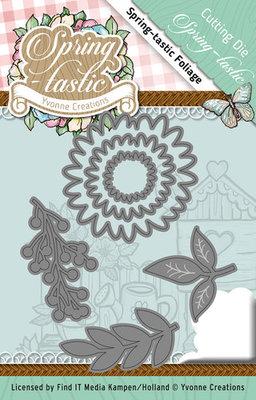 Die - Yvonne Creations - Spring-tastic - Foliage