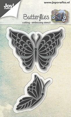 Joy! stencil vlinders 2st