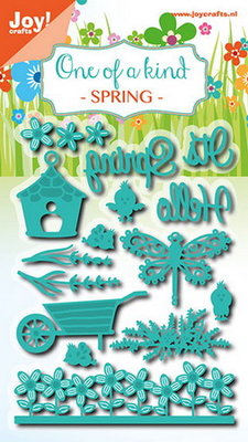 Joy! stencil set lente (15 st) 6002/0700