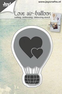 Joy! stencil liefdes luchtballon 6002/0665