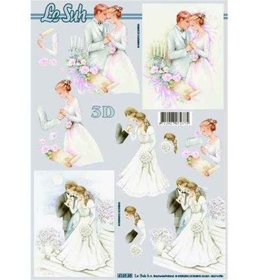 Le suh bruidspaar