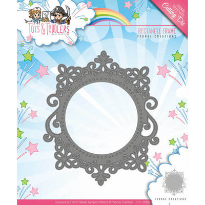 Tots and Toddlers - Die - Rectangle Frame