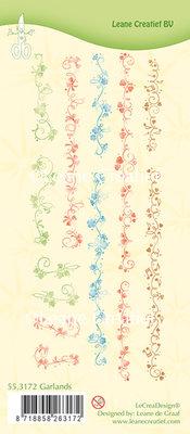 Clear stamp Garlands
