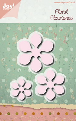 Joy Crafts - Joy! stencil bloemen 3 st